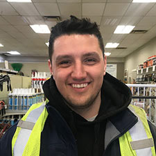Jayson - Driver at Turkstra Lumber Stoney Creek